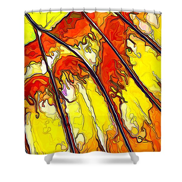 Flying Away...2 Shower Curtain