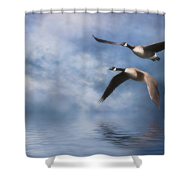Flying Home Shower Curtain