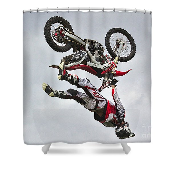 Flying Inverted Shower Curtain