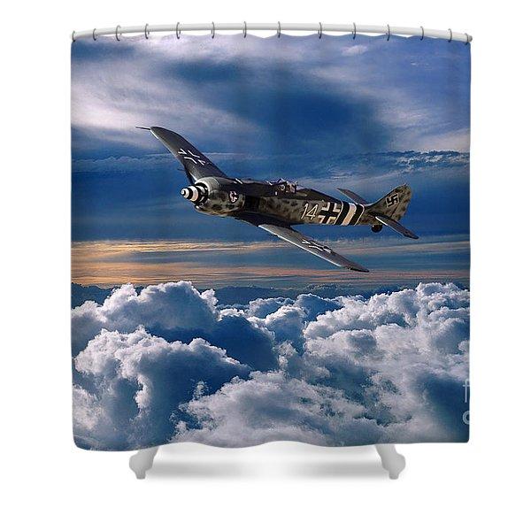 Focke Wulf Fw 190 Shower Curtain