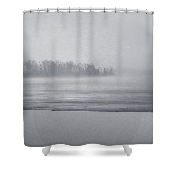Fog Light Shower Curtain