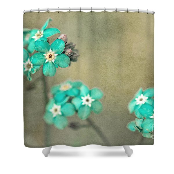 Foget Me Not 05922-s25-ft7 Shower Curtain