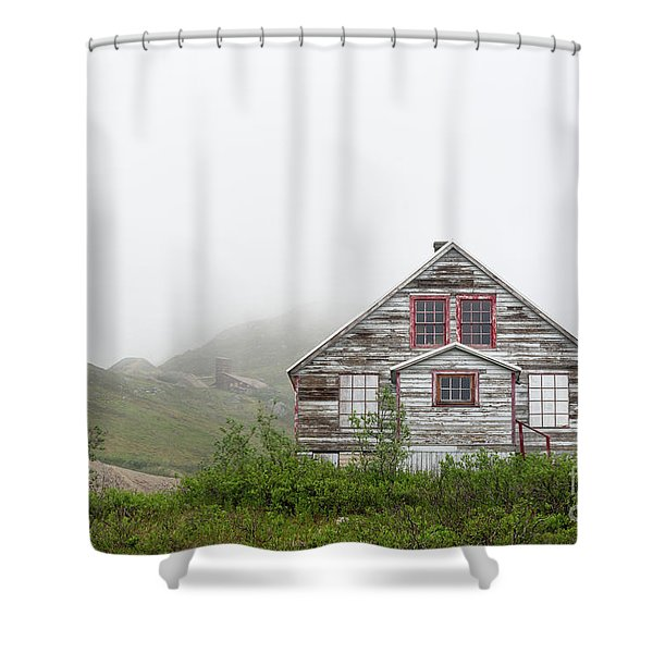 Foggy And Abandoned Shower Curtain