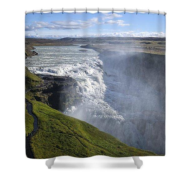 Follow Life's Path Shower Curtain