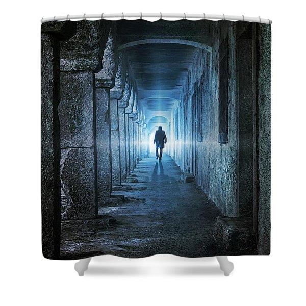 Following The Light Shower Curtain