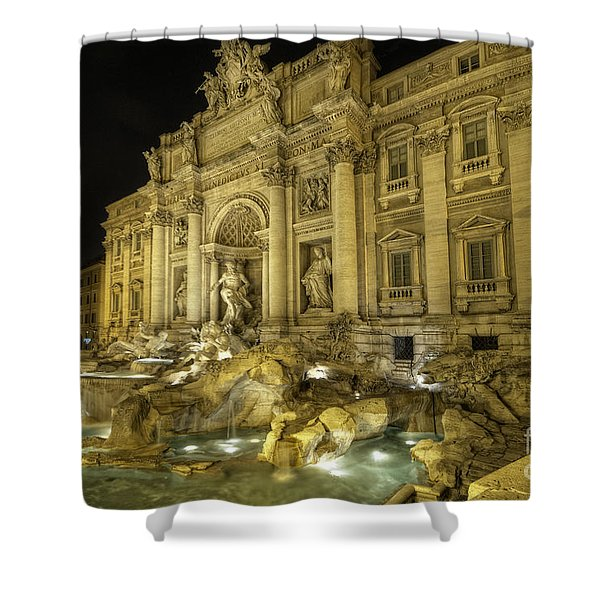 Fontana Di Trevi 1.0 Shower Curtain