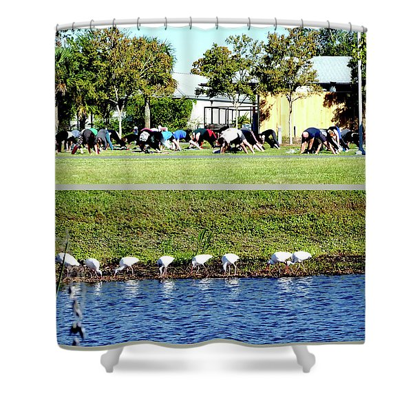 For All Species Shower Curtain