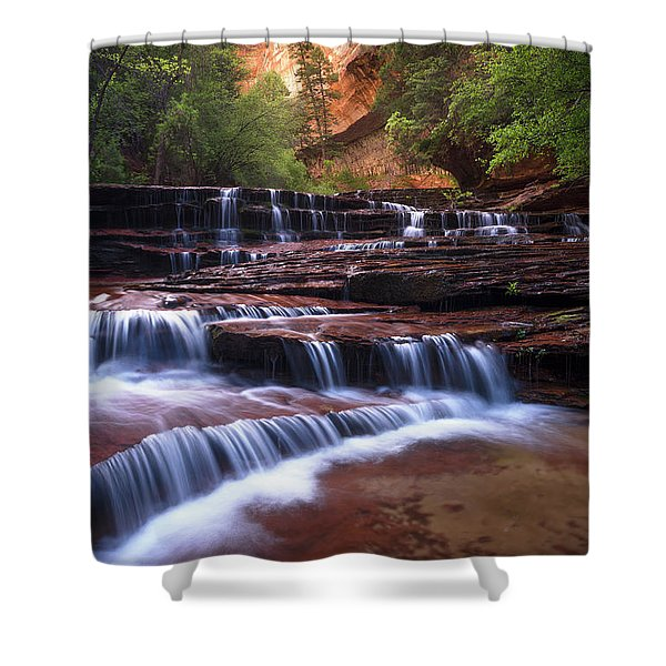 For An Angel Shower Curtain
