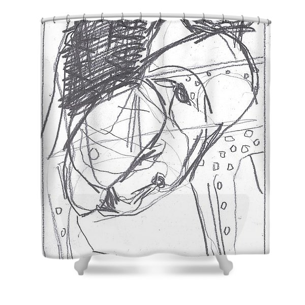 For B Story 4 11 Shower Curtain