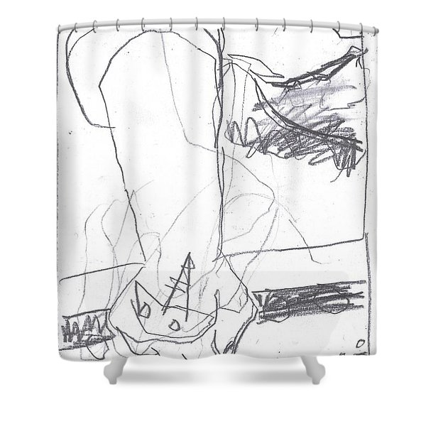 For B Story 4 6 Shower Curtain