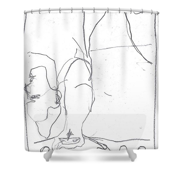 For B Story 4 7 Shower Curtain