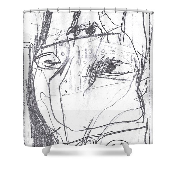 For B Story 4 9 Shower Curtain