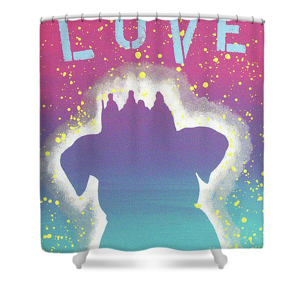 For The Love Of Pups Shower Curtain