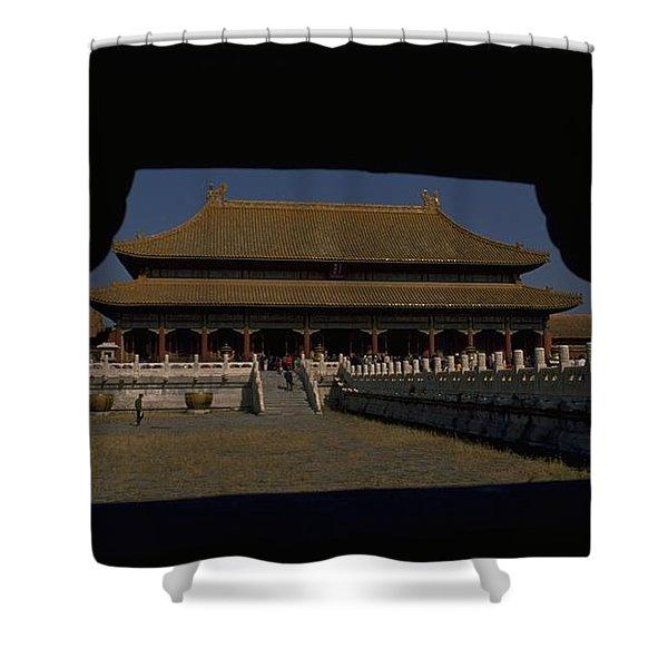 Forbidden City, Beijing Shower Curtain