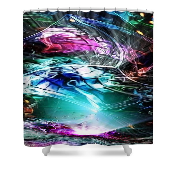 Forced Entry Shower Curtain