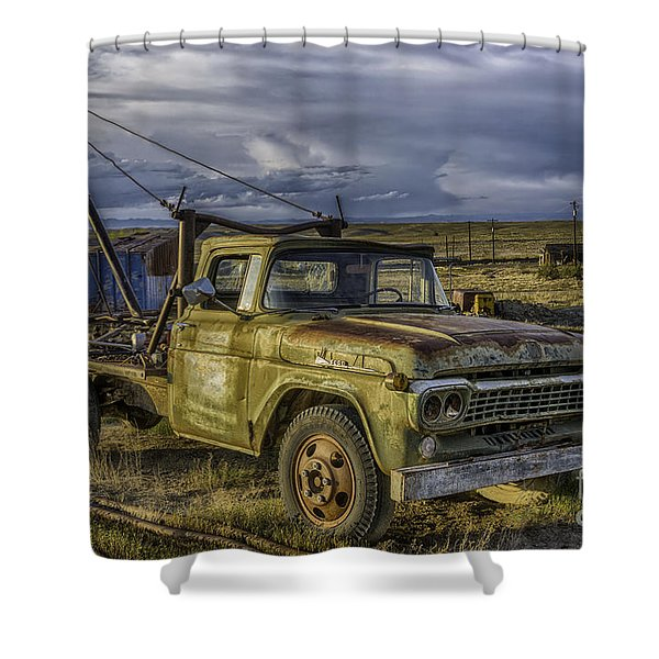Ford 1958 - F-series Pickup  Shower Curtain