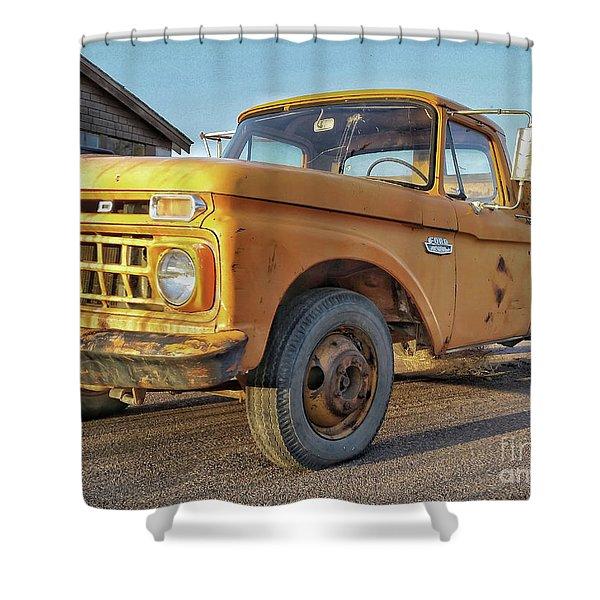 Ford F-150 Dump Truck Shower Curtain