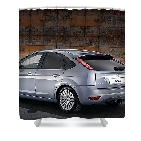 Ford Focus Shower Curtain