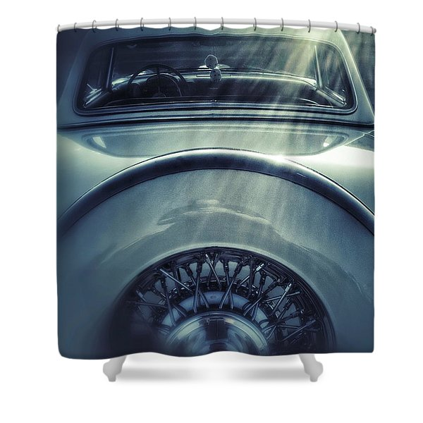 Ford Thunderbird Back Window 3 Shower Curtain
