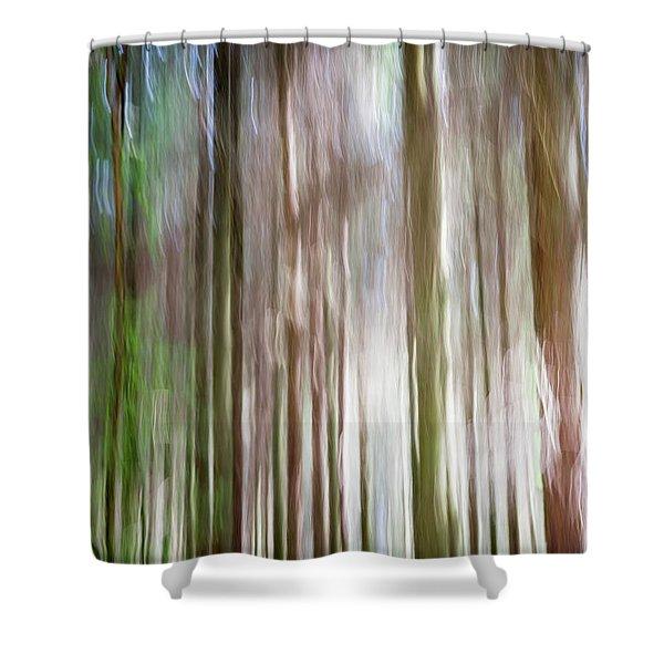 Forest Fantasy 4 Shower Curtain
