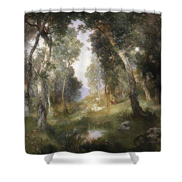 Forest Glade Shower Curtain