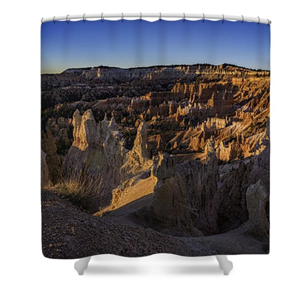 Forest Of Stone Shower Curtain