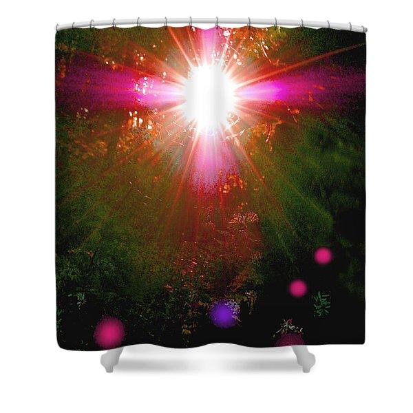 Forest Spirit Shower Curtain