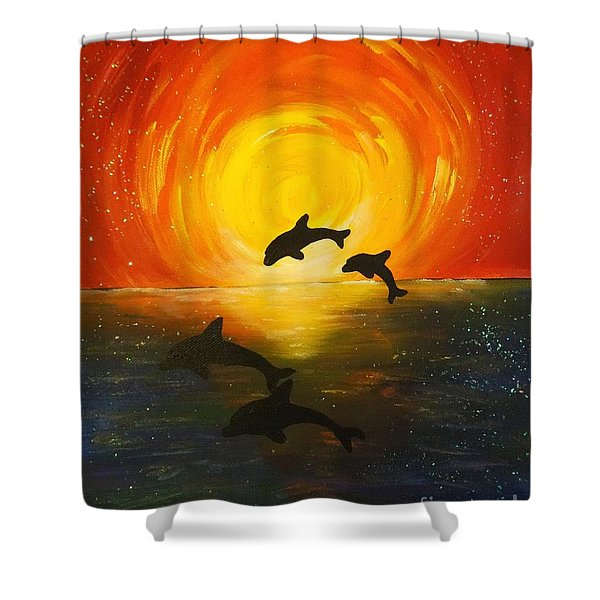 Forever Friends Shower Curtain