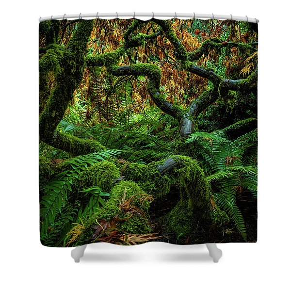 Forever Green Shower Curtain