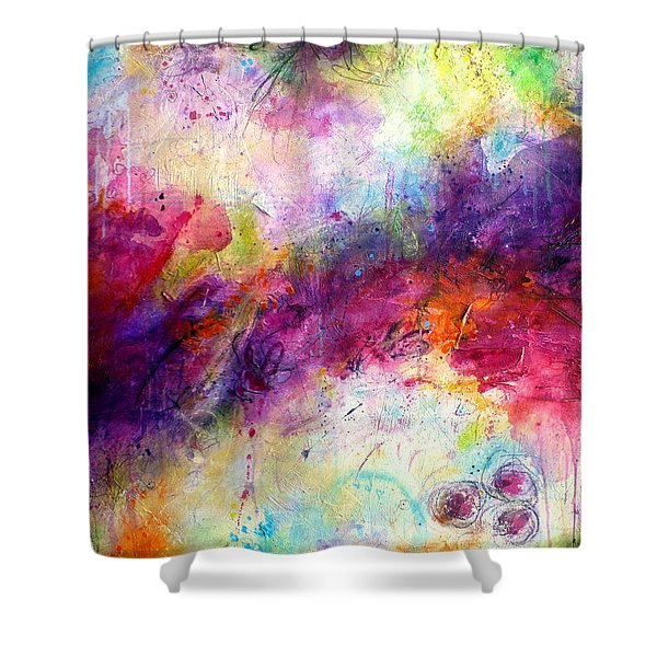Forever Is A Long Time Shower Curtain