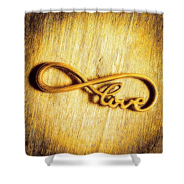 Forever Love Shower Curtain