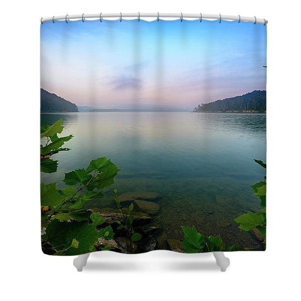 Forever Morning Shower Curtain