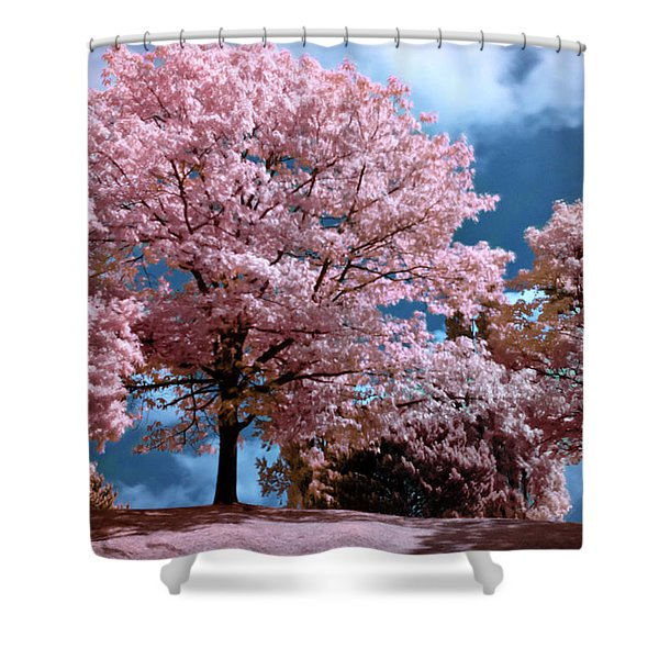 Forever Spring Shower Curtain