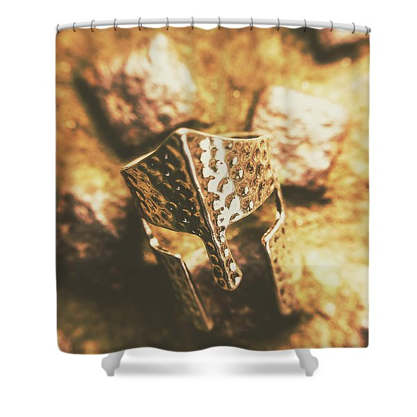 Forged In The Crusades Shower Curtain