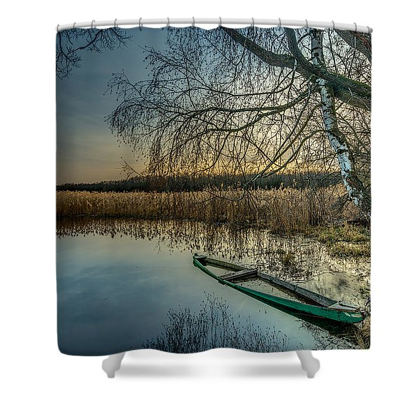 Forgotten And Sunk Shower Curtain