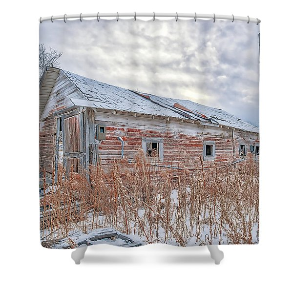 Forgotten Barn Shower Curtain