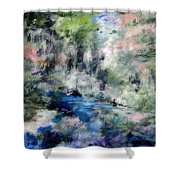Forgotten Creek  Shower Curtain
