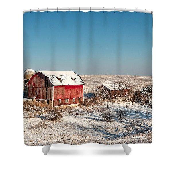 Forgotten Farm Shower Curtain