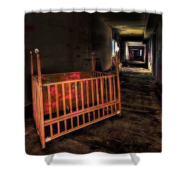 Forgotten Lullaby Shower Curtain