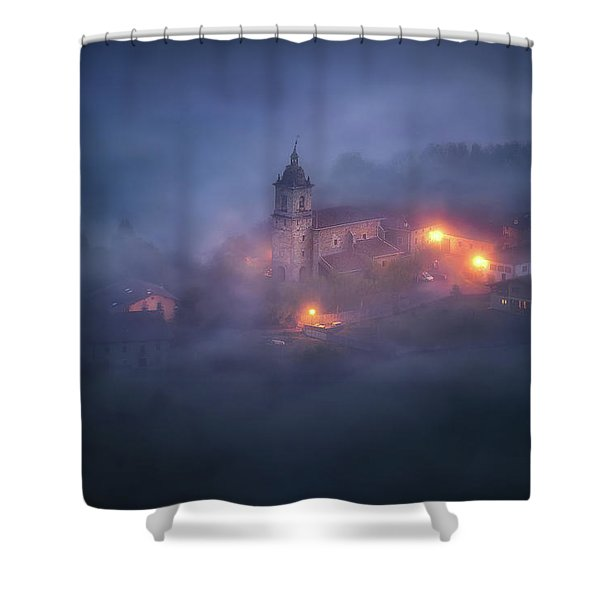 Forgotten Realms Shower Curtain