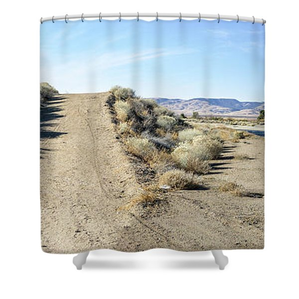 Fork In The Road Shower Curtain