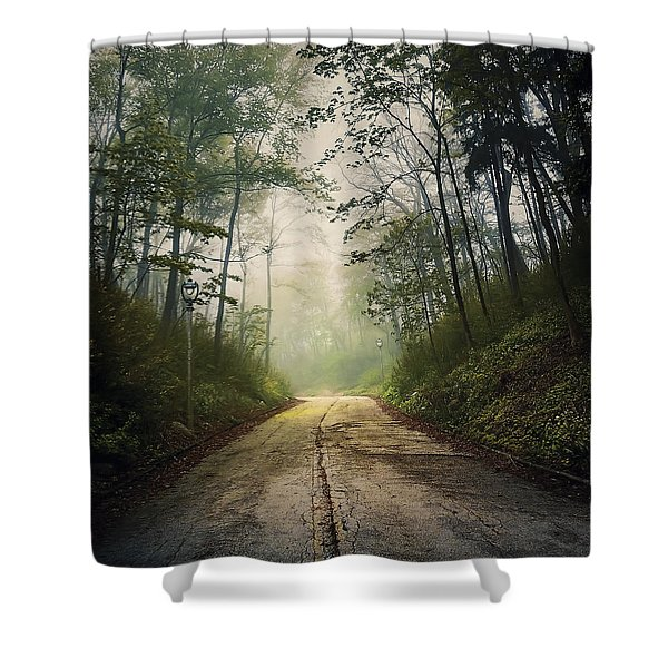 Forsaken Road Shower Curtain