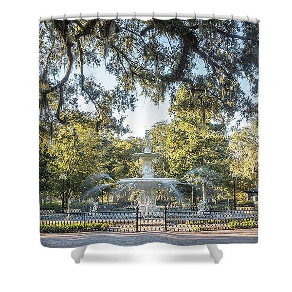 Forsyth Park #2 Shower Curtain