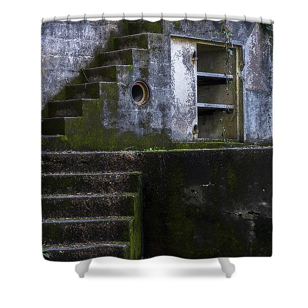 Fort Canby Shower Curtain