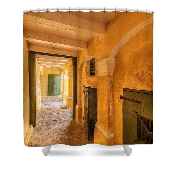 Fort Christianson Shower Curtain