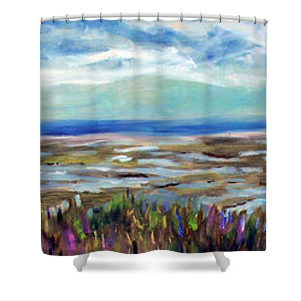 Fort Hill Panorama Shower Curtain