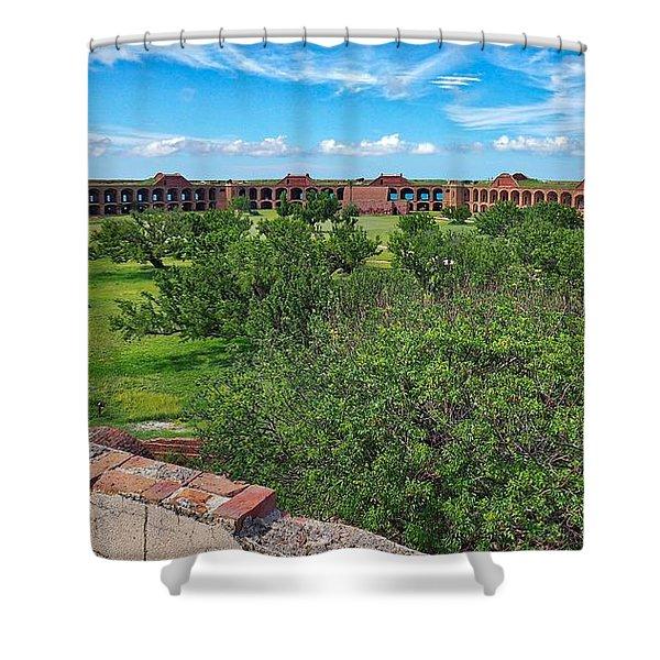 Fort Jefferson Shower Curtain