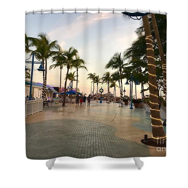 Fort Meyers, Estero Island, Florida Shower Curtain