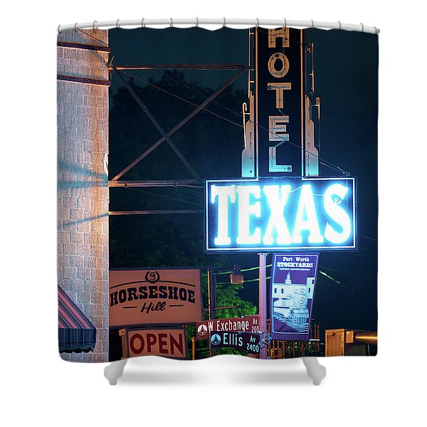 Fort Worth Hotel Texas 6616 Shower Curtain