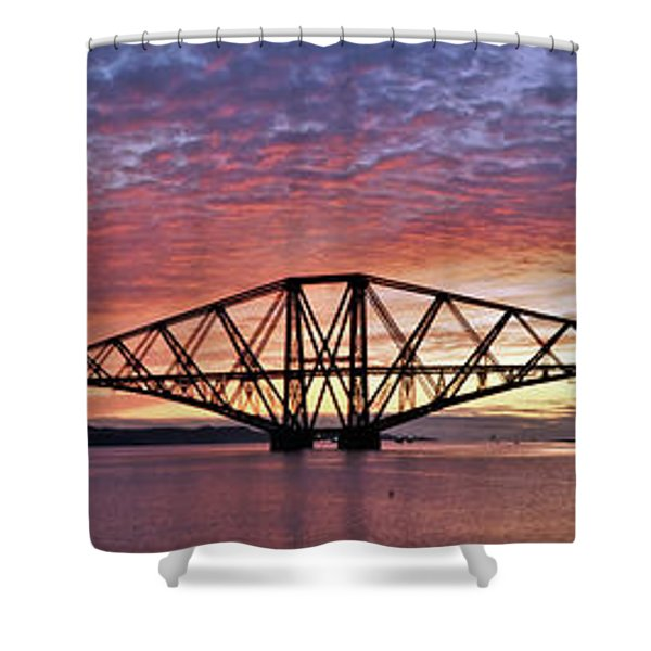 Forth Dawn Shower Curtain
